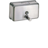 Puregiene 1.2L Horizontal Soap Dispenser Stainless Steel