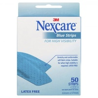 Nexcare Blue Strip X 50